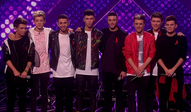 Stereo Kicks perform on X Factor - 30 November 2014.