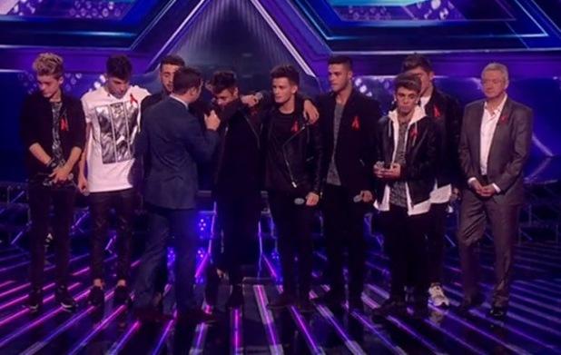 Stereo Kicks leave The X Factor - 30 November 2014.