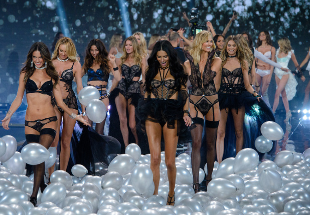Victoria's Secret Fashion Show 2014 London held at Earl's Court - Catwalk - 2/12/2014.
