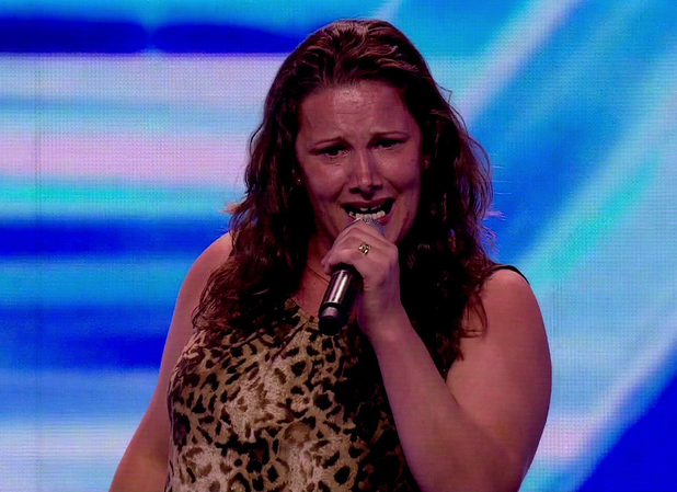 Sam Bailey on The X Factor - Live Auditions. Shown on ITV1 HD - September 2013.