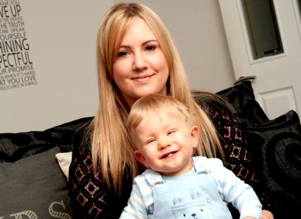Gemma Jamieson, I can't remember giving birth