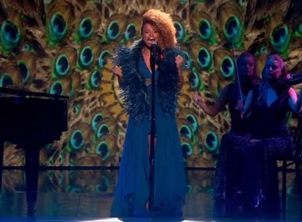 Fleur East performs on The X Factor - 29 November 2014