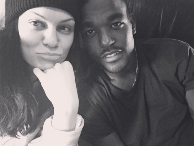 Jessie J shares throwback photo with Luke James - 1 December 2014.