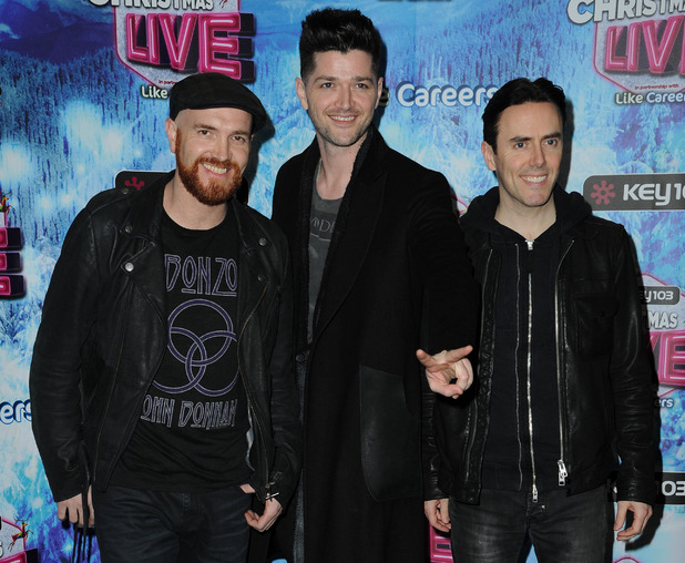 The Script: Acts Play at the Manchester Arena as part of Key 103 Christmas Live Event - 4 Dec 2014