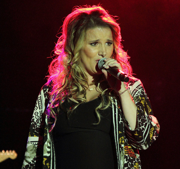 Sam Bailey at Guilfest Day Two at Stoke Park, Guildford, Surrey - 19/7/2014.