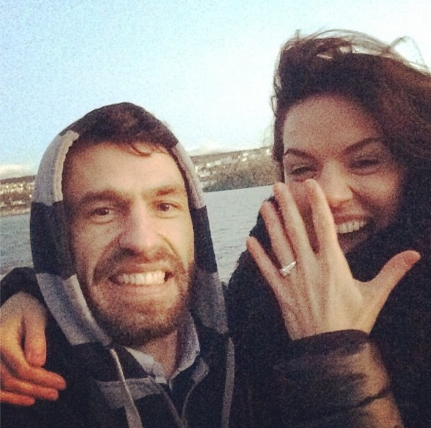 Kelvin Fletcher engaged to girlfriend Liz Marsland 1 December