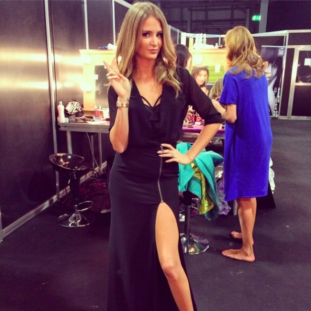 Millie Mackintosh launches clothing line at Clothes Show Live, 6 December 2014