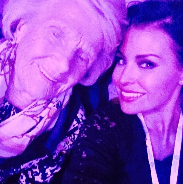 TOWIE's Jessica Wright and Nanny Pat watch Michael Buble at Barclaycard Arena in Birmingham - 2 Dec 2014