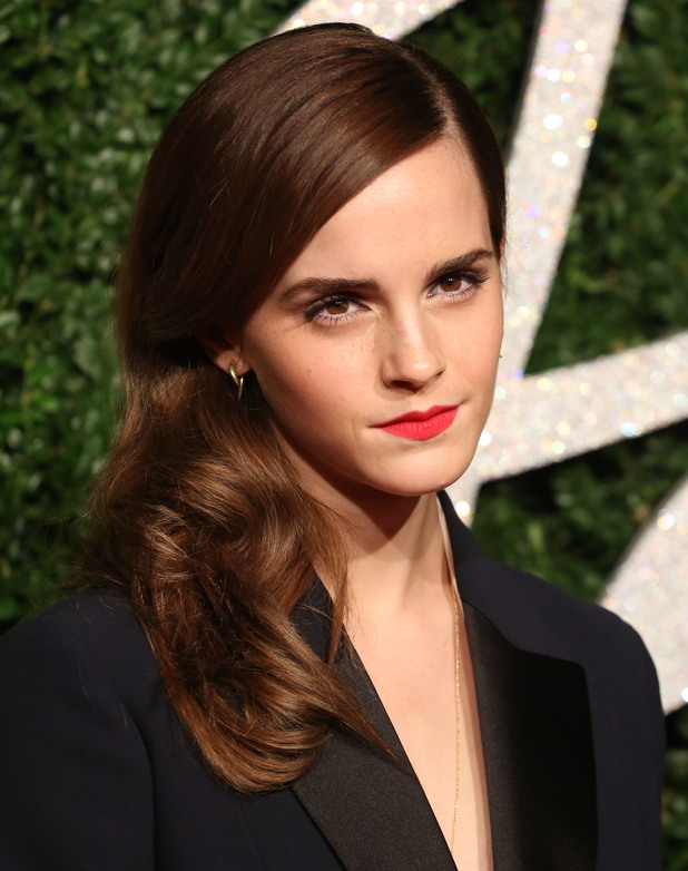 Emma Watson, The British Fashion Awards 2014 held at London Coliseum - Arrivals, 1 December 2014