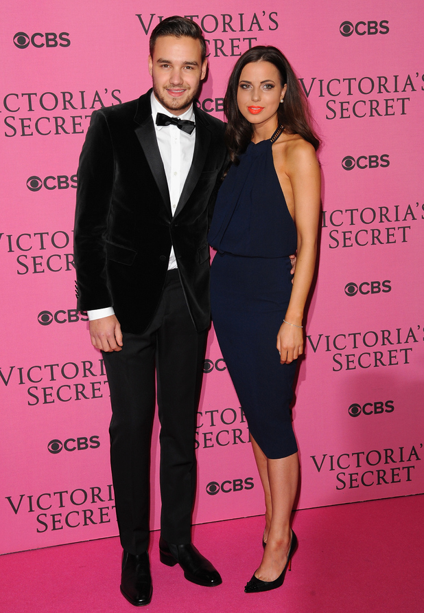 Liam Payne and Danielle Peazer attend the annual Victoria's Secret fashion show at Earls Court on December 2, 2014 in London, England,