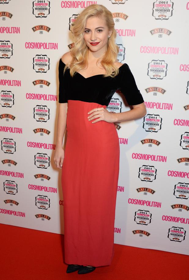 Pixie Lott attends the Cosmopolitan Ultimate Women Awards 2014 in London, England - 3 December 2014