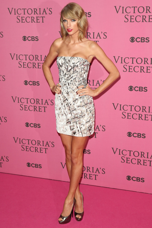 Taylor Swift arrives at the Victoria's Secret Fashion Show 2014 in London - 2 December 2014