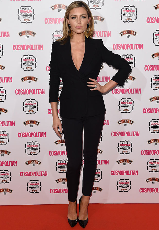 Abbey Clancy at Cosmopolitan Ultimate Women of the Year Awards, 2014