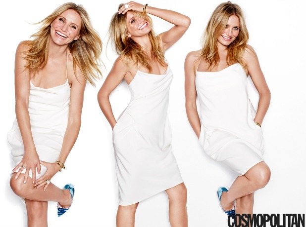 Cameron Diaz is January 2015 cover star for Cosmopolitan US, available 9 December.