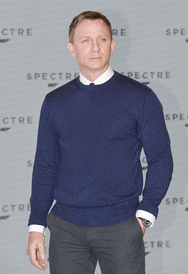 The launch of the new James Bond film, 'Spectre' - Arrivals Daniel Craig