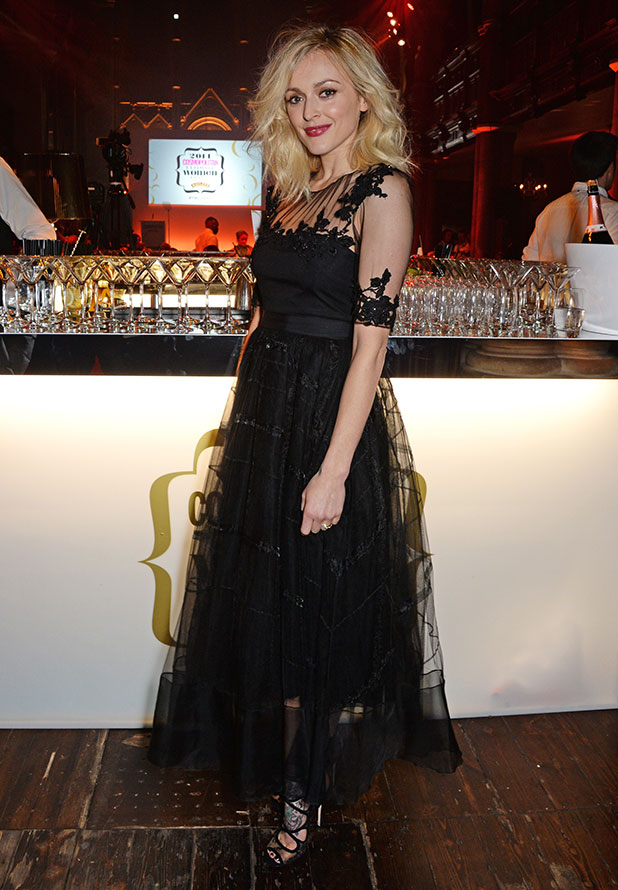 Fearne Cotton attends the Cosmopolitan Ultimate Women of the Year Awards at One Mayfair on December 3, 2014 in London, England.