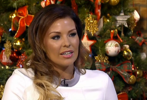 TOWIE's Jessica Wright appears on This Morning,6 December 2014