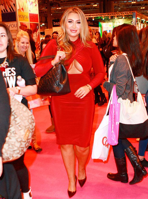 Clothes Show Live at the NEC Birmingham, Britain - 05 Dec 2014 Lauren Goodger