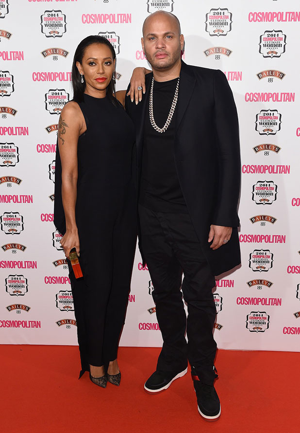 Cosmopolitan Ultimate Women Awards, One Mayfair, London, Britain - 03 Dec 2014 Mel B and husband Stephen Belafonte.