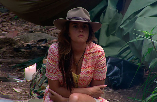 Nadia Forde on I'm A Celebrity... Get Me Out Of Here!, Shown on ITV1 HD, December 2014