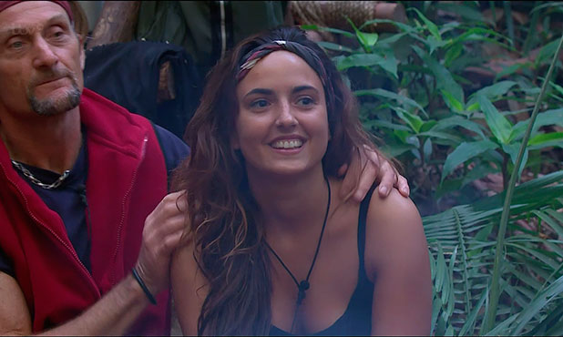 Nadia Forde is the second celebrity to be voted out of the jungle on 'I'm A Celebrity... Get Me Out Of Here!', Shown on ITV1 HD, 2 December 2014
