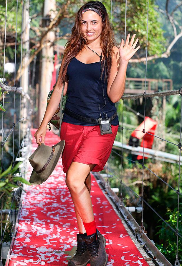 'I'm A Celebrity...Get Me Out Of Here!' TV Programme, Australia - 03 Dec 2014 Nadia Forde is eliminated