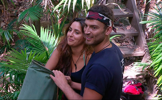Nadia Forde and Jake Quickenden appear on I'm A Celebrity... Get Me Out Of Here NOW!