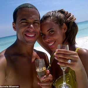 Rochelle Humes engagement ring