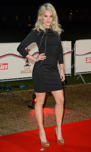 Ashley Roberts attends The Sun Military Awards, London 10 December