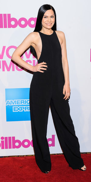 Jessie J attends Billboard Women in Music Luncheon 2014 at Cipriani Wall Street, 12 December 2014