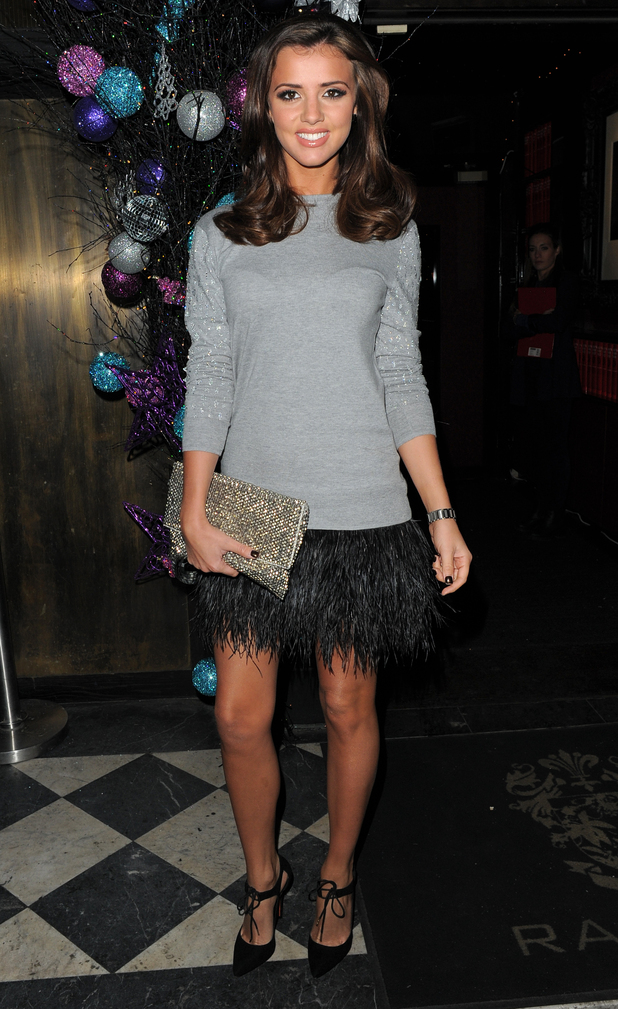 Lucy Mecklenburgh attends the Kazam Tornado launch party in Chelsea, London - 10 December 2014