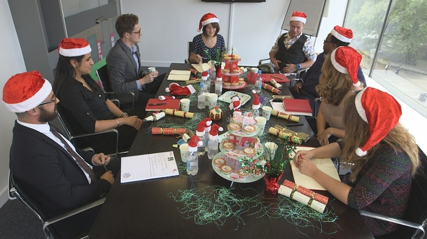 The Office Xmas Party, ITV2, Mon 15 Dec