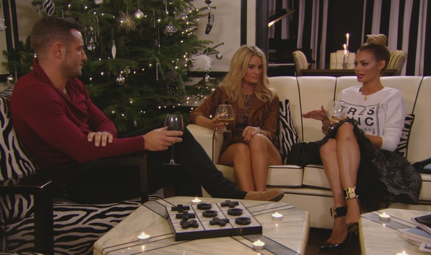 TOWIE - Chloe and Elliott argue - 10 December.