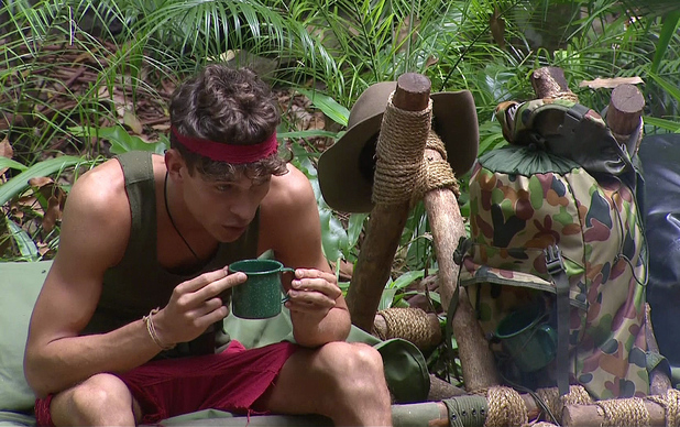 Joey Essex on I'm A Celebrity... Get Me Out Of Here! - December 2013.
