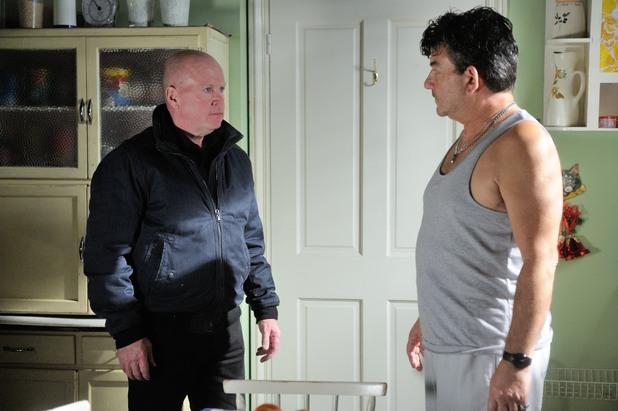 EastEnders, Phil confronts Nick, Mon 15 Dec