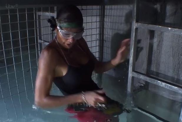 Mel Sykes does her final Bushtucker Trial - 7 Dec 2014