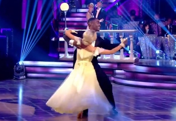 Simon Webbe performs the Waltz on Strictly Come Dancing, BBC One 29 November