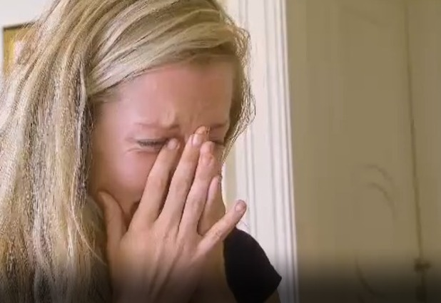 Kendra Wilkinson breaks down in tears during I'm A Celebrity..Get Me Out Of Here! Coming Out - 10 Dec 2014