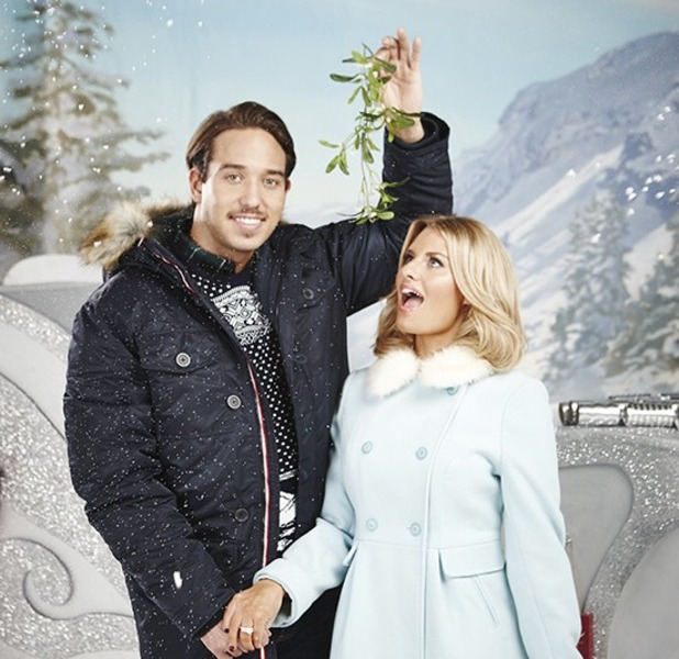 Danielle Armstrong and James Lock have got Christmas all wrapped up!
