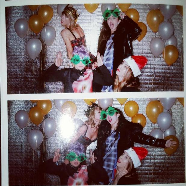 Taylor Swift celebrates 25th birthday with LOADS of celebs, 12 December 2014