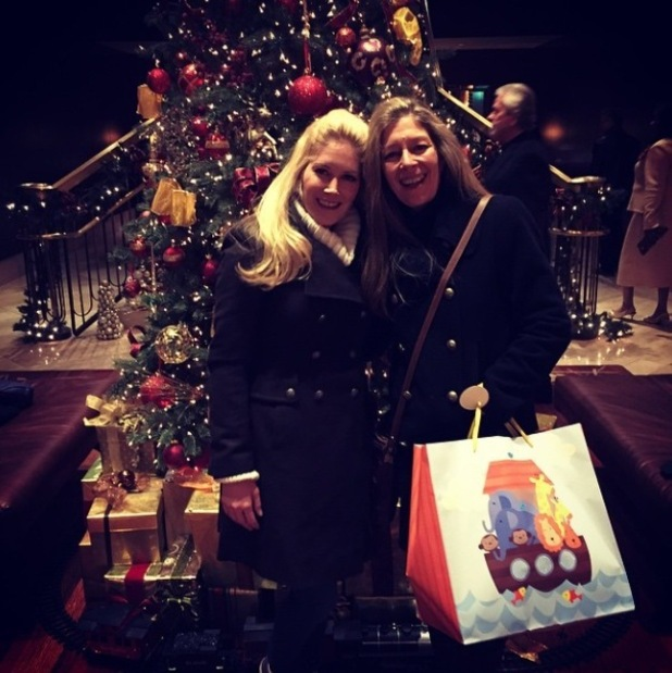 Heidi Montag and her mum Darlene celebrate Christmas in Colorado, 8 Dec 2014