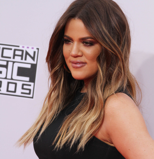 Khloe Kardashian, 2014 American Music Awards held at NOKIA Theatre L.A. LIVE, 23 November 2014
