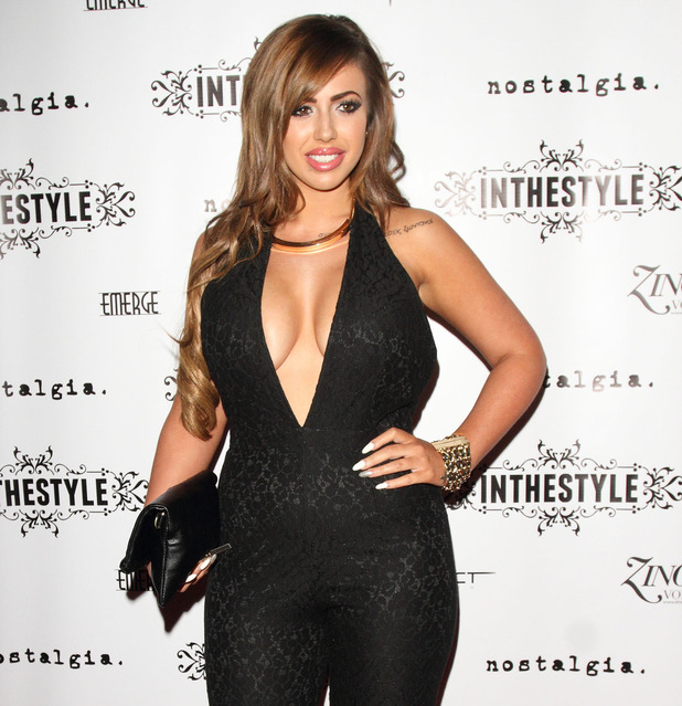 Holly Hagan, In The Style Party at Project Club, Wells Street, London, 4 October 2014