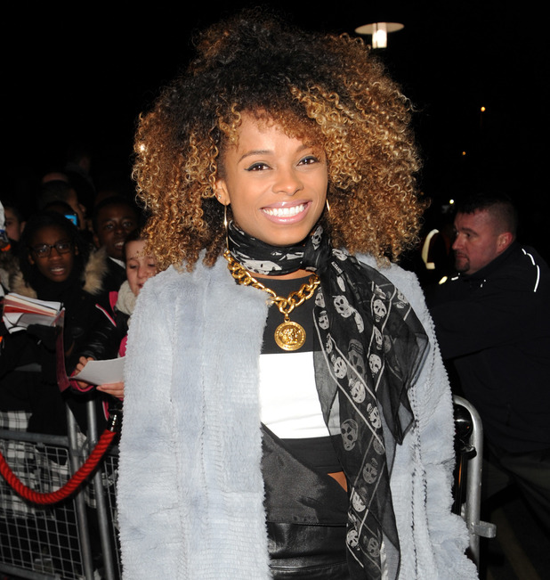 Fleur East performs in Walthamstow, London 10 December