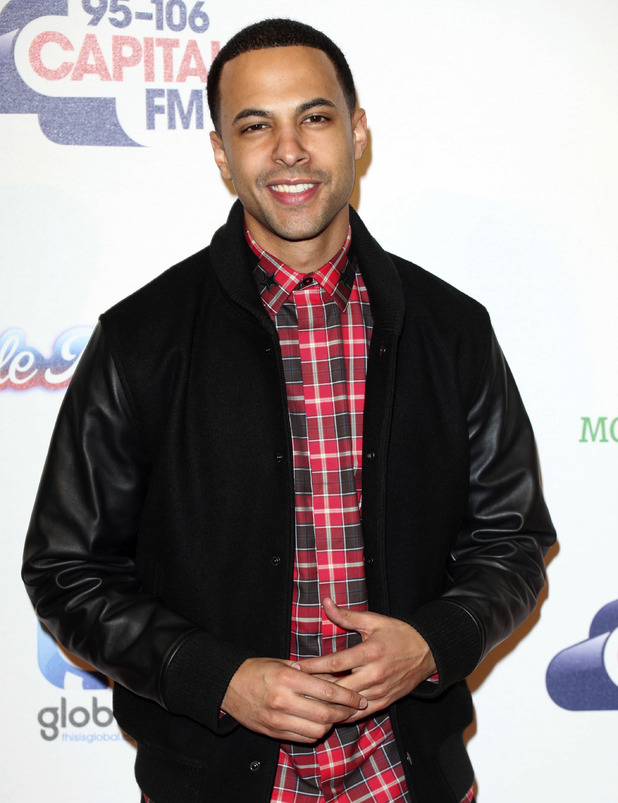 Marvin Humes at Capital FM's Jingle Bell Ball 2014 at The O2 - Day 2. 7/12/2014.