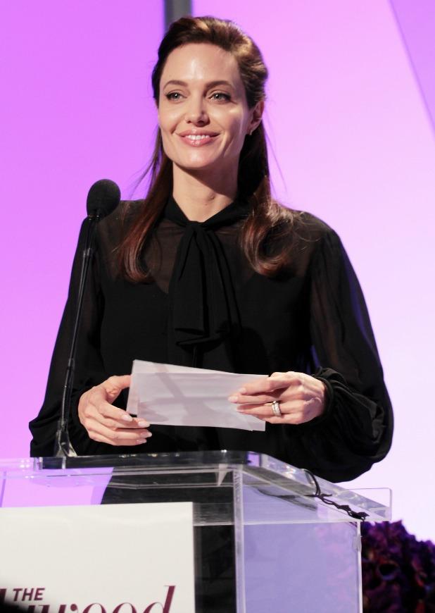 Women in Entertainment Breakfast, Los Angeles, America - 10 Dec 2014 Angelina Jolie