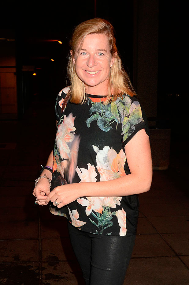 Katie Hopkins at the RTE studios for 'The Late Late Show' 20 September 2014