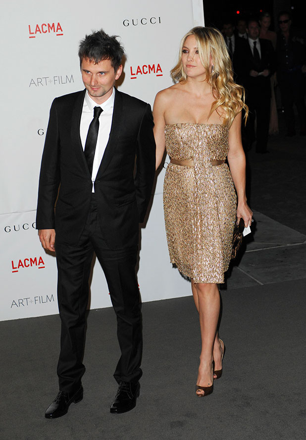 Kate Hudson and Matt Bellamy LACMA's Art And Film Gala Honoring Clint Eastwood And John Baldessari at LACMA Los Angeles, California - 05.11.11
