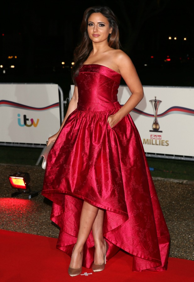 Nadia Forde at The Sun Military Awards (Millies) 2014, 10 December 2014