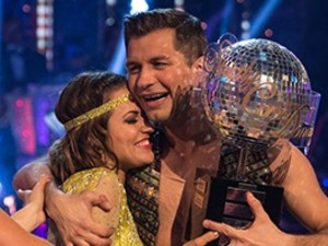 Caroline Flack thanks fans after winning Strictly Come Dancing